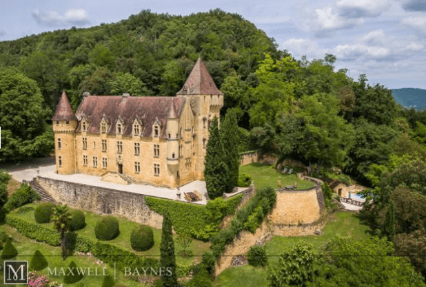 Beautiful Bordeaux Real Estate: chateau in Dordogne valley near Sarlat Maxwell-Baynes ref 2919021