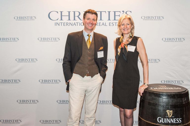 Karin Maxwell & Michael Baynes Christie's International Real Estate Conference Dublin 2016