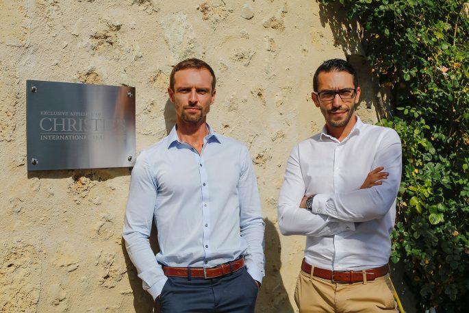 Maxwell-Baynes Bordeaux real estate agents Jean-Paul Bonheme and Nicolas Macon
