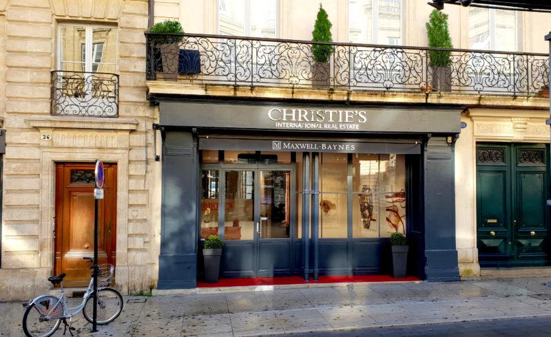 Exterior offices Maxwell-Baynes – Christie's International Real Estate, 28 cours du Chapeau Rouge, Bordeaux